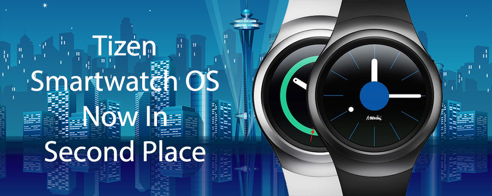 Tizen Smartwatch OS Now In Second Place